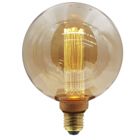 Vintage Led Edison - 125 mm-es gömb