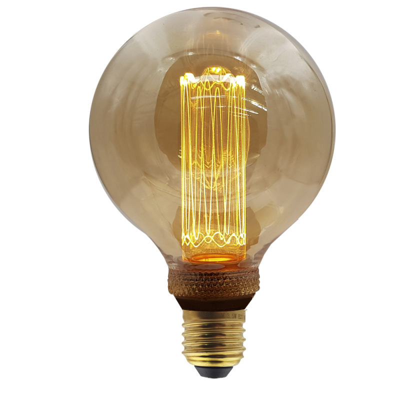 Vintage Led Edison - 95 mm-es gömb